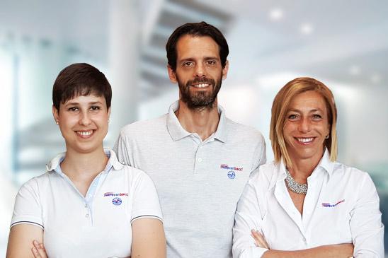 Chiara, Andrea e Nicoletta