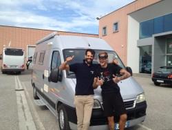 Consegna Grimaldi Giuseppe – Eurocamp