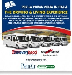 Driving & Living Experience: il primo Weekend!