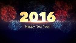 happy news year 2016