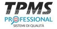 tpms sistemi professionali controllo pressione pneumatici