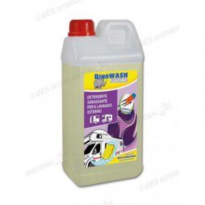 shampoo per lavaggio camper Rinowash caravanbacci
