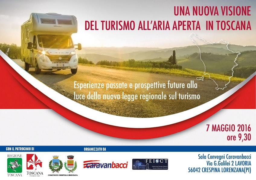 turismo in toscana camper