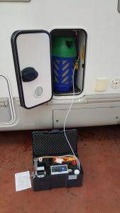 controllo gas bombole beyfin