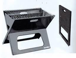 grill a carbonella portatile chiudubile