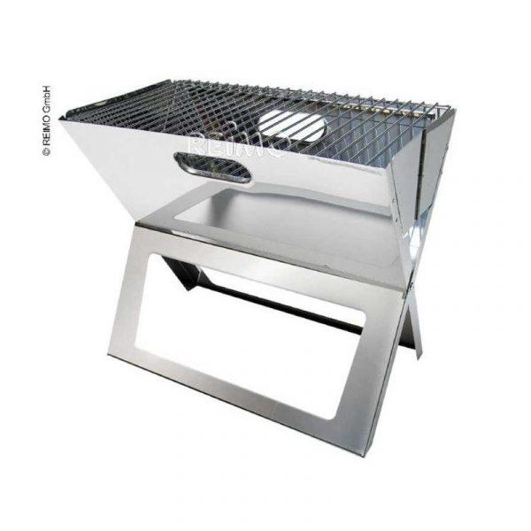 grill a carbonella portatile tom caravanbacci