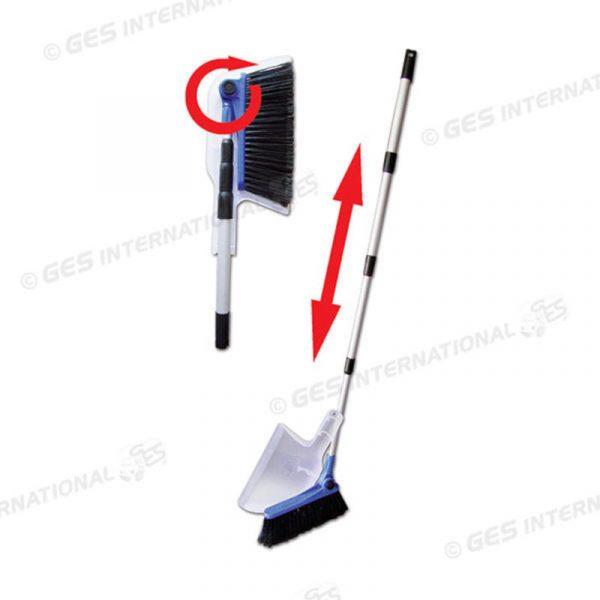 scopa telescopica paletta broom caravanbacci