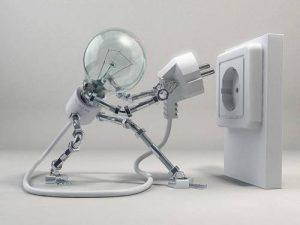 interruzione corrente elettric
