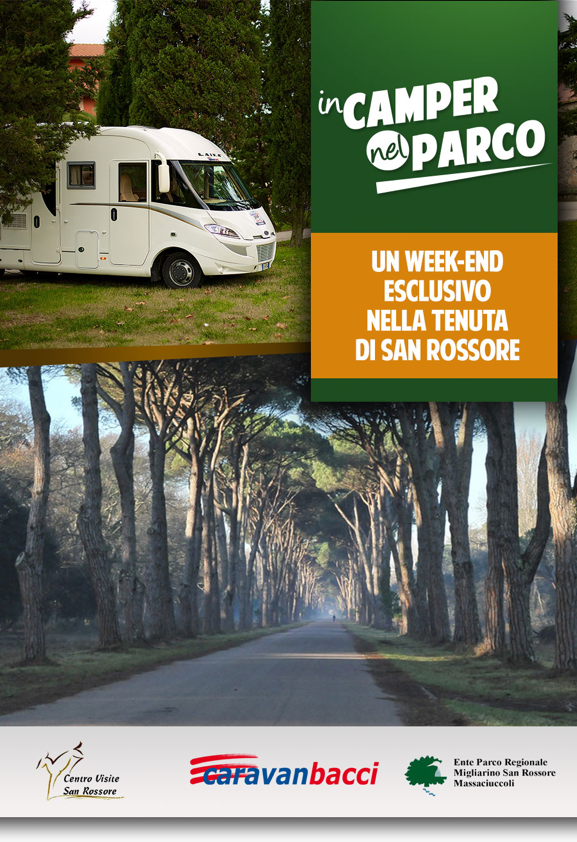 Weekend in camper nel Parco di San Rossore c6361e02d6e