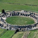 rovine di luni anfiteatro
