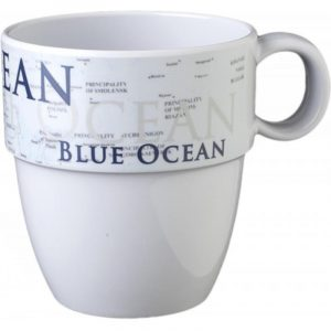 tazzone melammina blue ocean caravanbacci