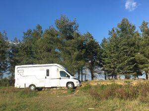 weekend nel chianti in camper