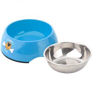 doppia ciotola per cani hungry caravanbacci