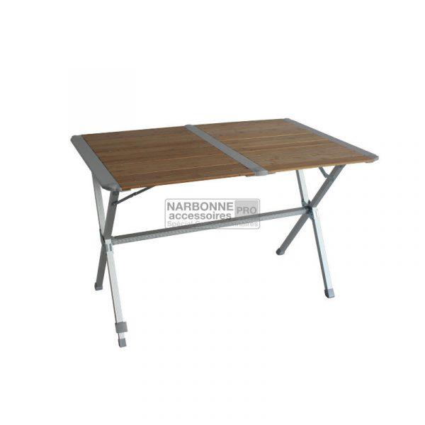 tavolo arrotolabile bamboo caravanbacc