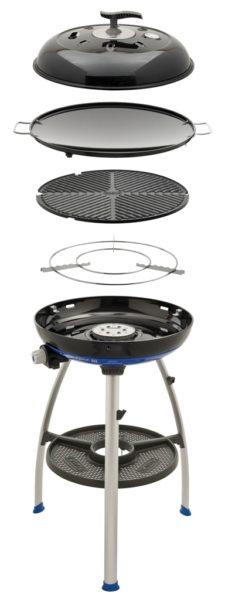 Barbecue da campeggio Carri Chef 2 BBQ Skottel   Caravanbacci.com