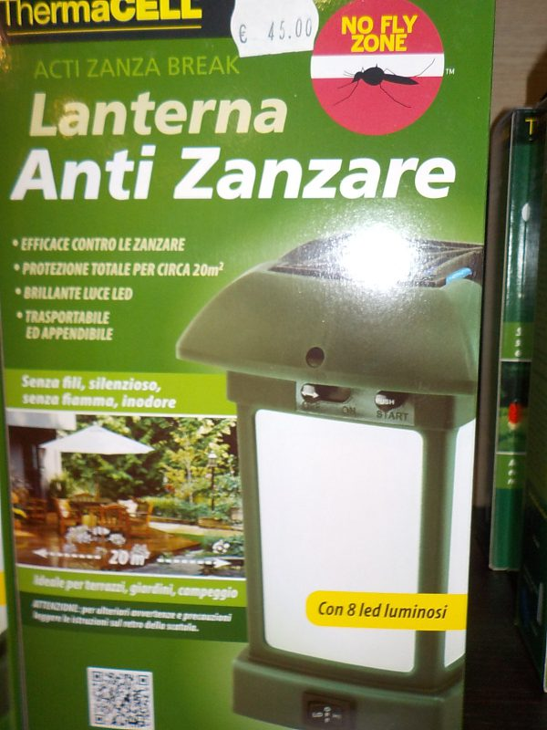 Lanterna anti zanzare   Caravanbacci.com