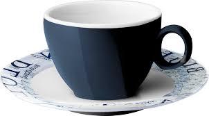 tazzina caffè melamina blue ocean brunner