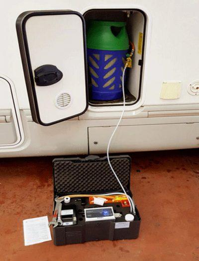 Controllo Gas Pesi Caravanbacci