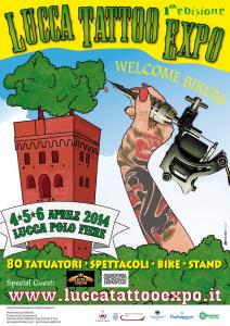 Manifesto Lucca Tattoo Expo 2014