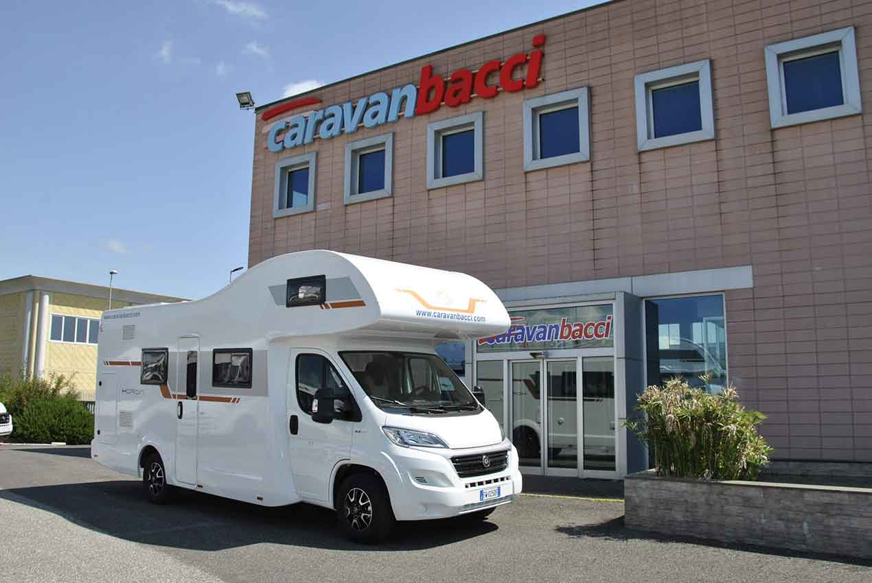 Caravan Horon bianco   Caravanbacci.com