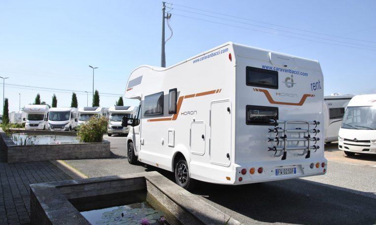 Caravan Horon bianco | Caravanbacci.com