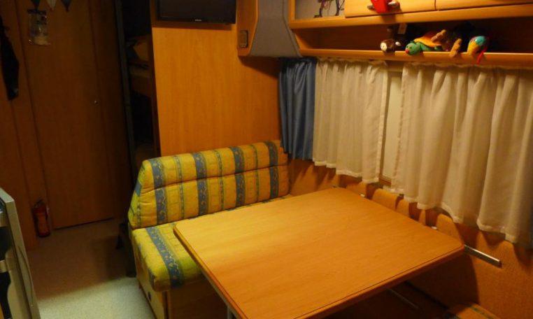 Camper Caravan/Roulotte None Knaus Sudwind 550 TFK ...