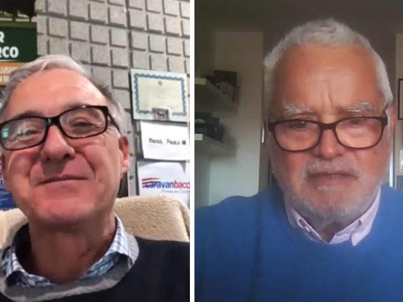 Paolo Bacci intervista i personaggi legati alla mondo del camper in Italia - Caravanbacci
