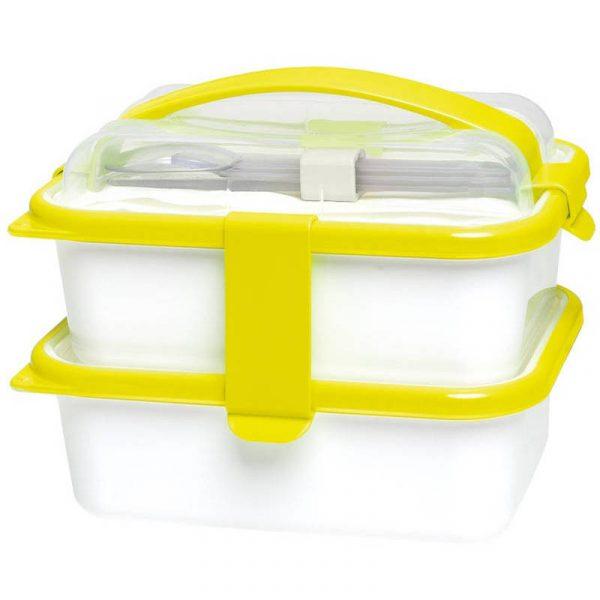 porta vivande lunch box 2 contenitori caravanbacci