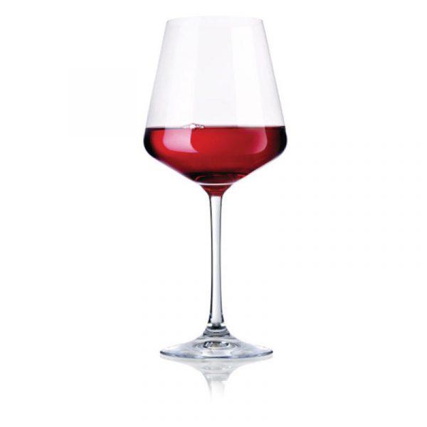 set 2 calici vino rosso in plastica caravanbacci