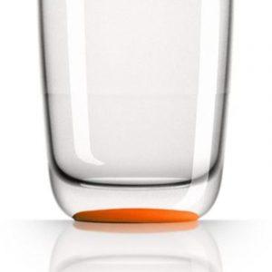 set 4 bicchieri arancio caravanbacci