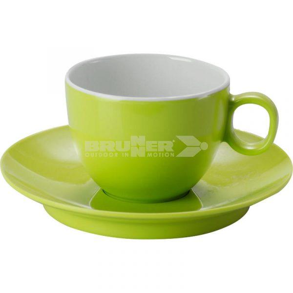 Set Espresso Melammina Verde Spectrum - Caravanbacci