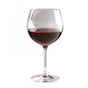 set 2 bicchieri vino rosso policarbonato caravanbacci