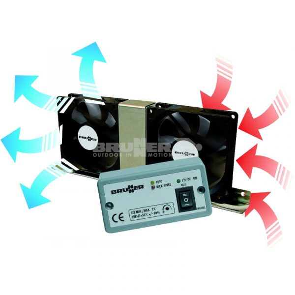 ventilatore per frigo Vento Electronic caravanbacci