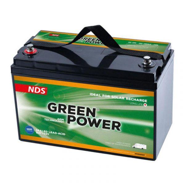 batteria agm gp100 caravanbacci