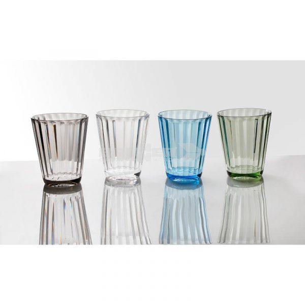bicchieri policarbonato jazz set di 4 caravanbacci
