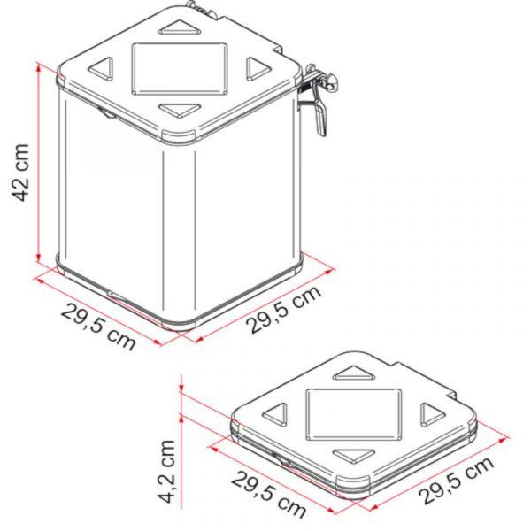 pattumiera pack-waste misure caravanbacci