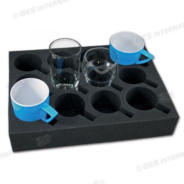 ferma proteggi bicchieri e tazze schiuma caravanbacci