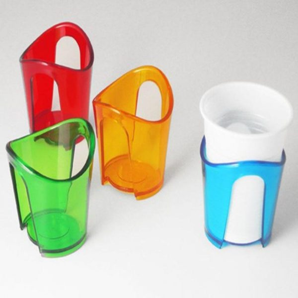 portabicchieri colorati set 4 caravanbacci