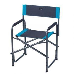 sedia regista grigio azzurra trigano caravanbacci