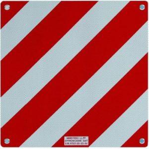 cartello segnalazione carichi sporgenti omologato caravanbacci