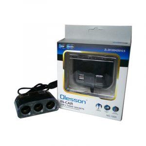 multipresa accendisigari in-car tripla USB caravanbacci