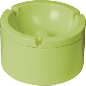 posacenere melammina verde caravanbacci
