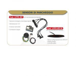 kit 4 sensori parcheggio LFPS417 caravanbacci