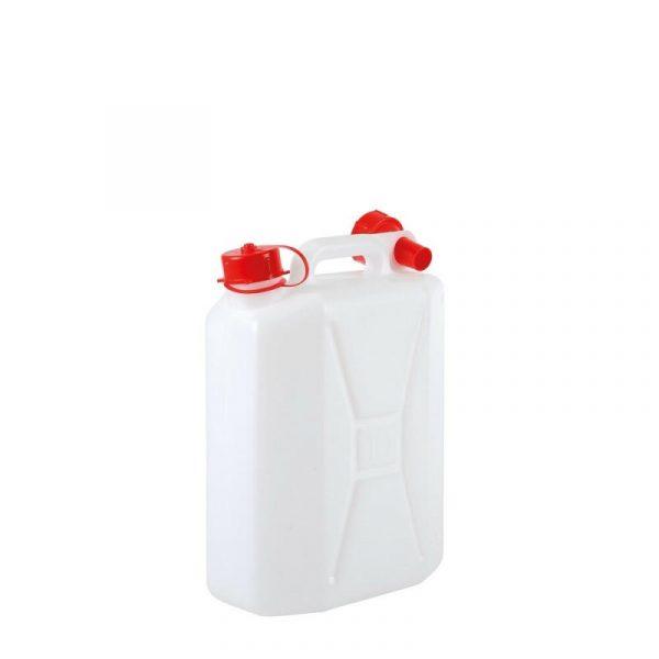 tanica acqua 10 litri con travasatore caravanbacci