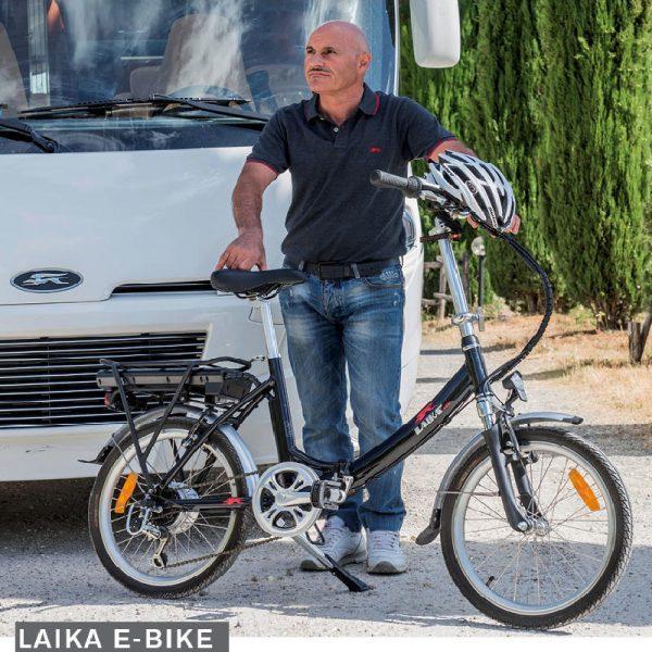 bici elettrica laika caravanbacci