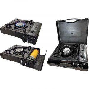 fornello portatile a gas valigetta caravanbacci