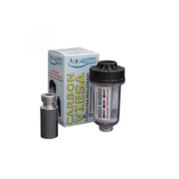 kit filtro anti calcare carbon Viesa + magnete caravanbacci