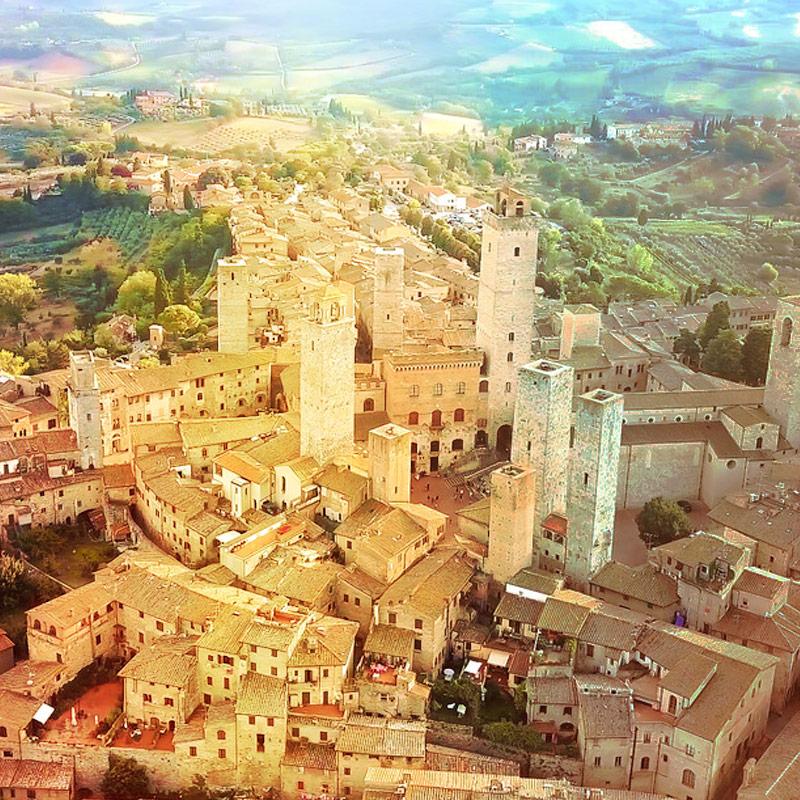 San Gimignano - Caravanbacci