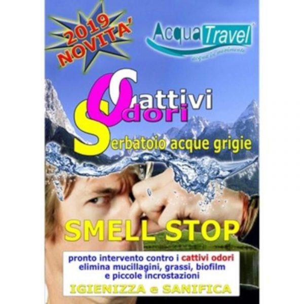 smell stop elimina cattivi odori serbatoio grigie caravanbacci