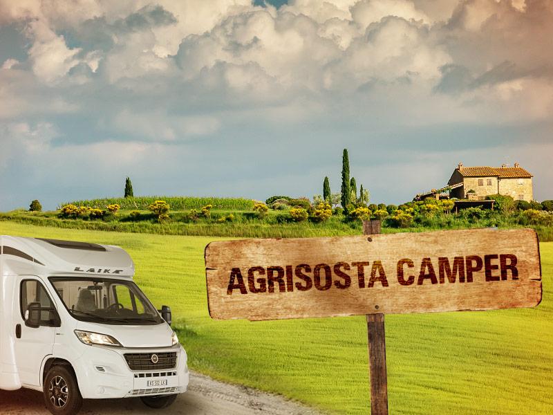 Ospitalità in Camper in Toscana